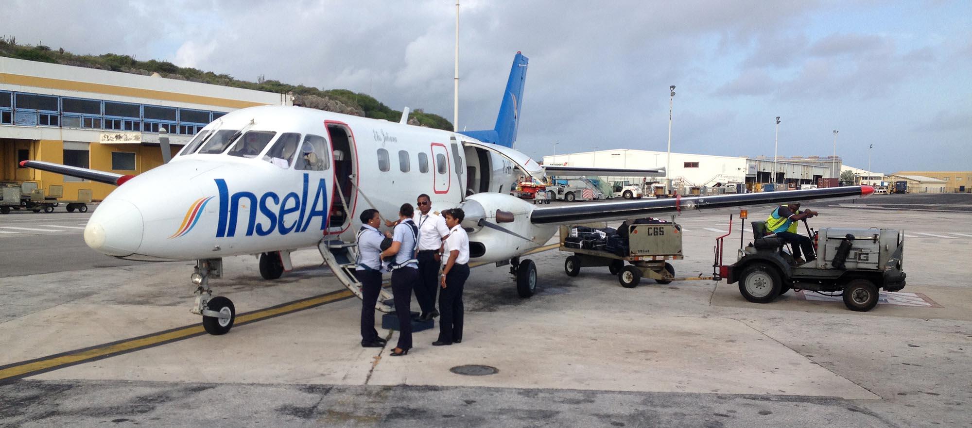 Insel air voorlopig niet naar Suriname
