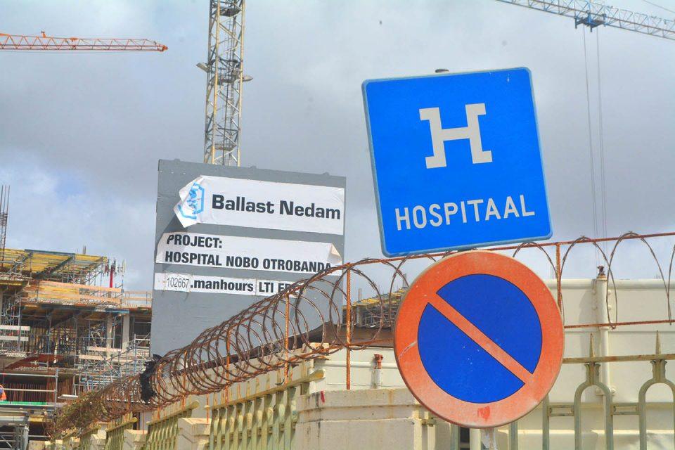 Ziekenhuis niet klaar, schuld Ballast Nedam - Curacao.nu