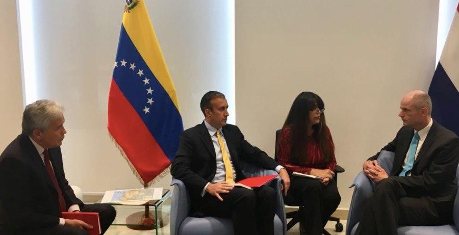 Bezoek Blok deblokkeert grenssluiting Venezuela