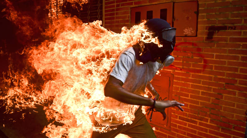 World Press Photo gaat over Venezuela