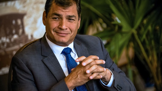 Ecuador vervolgt ex-president voor ontvoering