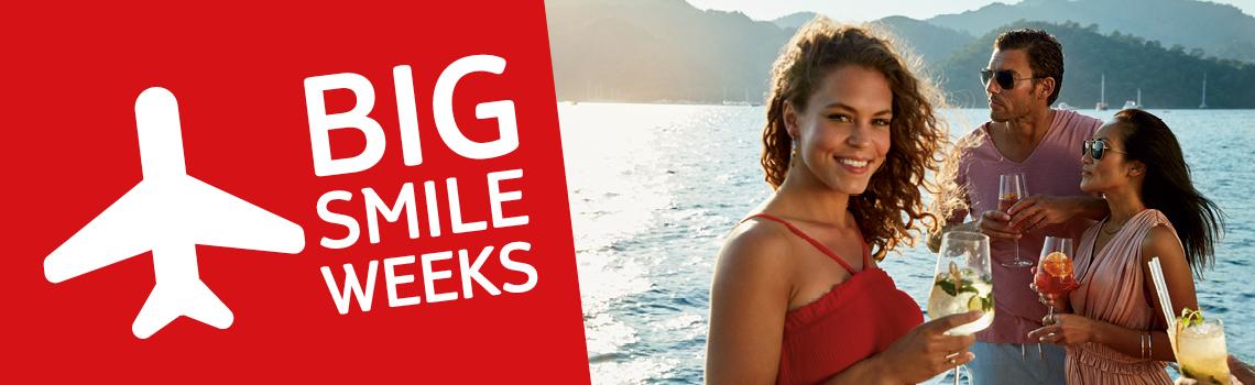 De TUI Big Smile Weeks 2019 zijn van start gegaan