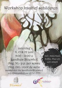 Workshop Intuïtief Schilderen @ Landhuis Bloemhof