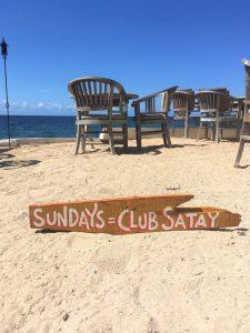 Elke zondag Indonesische Saté Avond @ Scuba Lodge & Ocean Suites