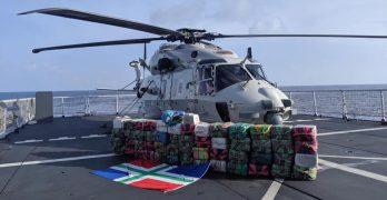 Koninklijke marine onderschept 1600 kilo drugs