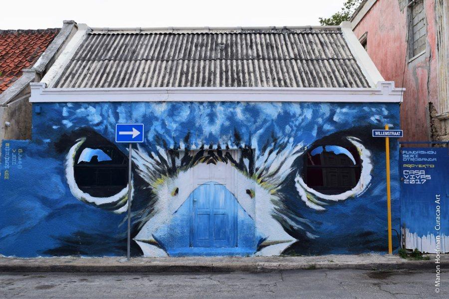Curacao streetart