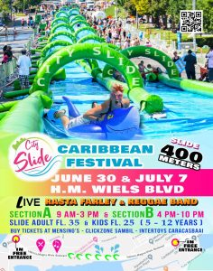 City Slide Caribbean Festival - H.M. Wiels Boulevard @ H.M. Wiels Boulevard