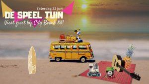 De Speel Tuin viert feest @ City Beach 88