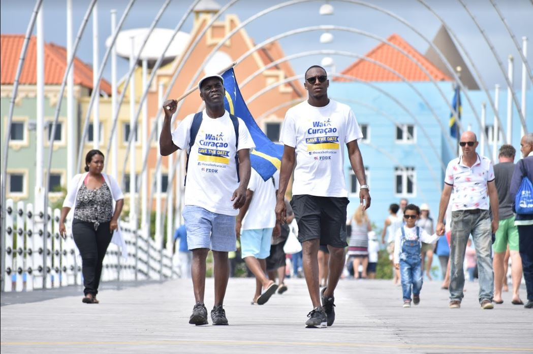The Walk of Curaçao, eerste internationale 3-daagse wandelevenement