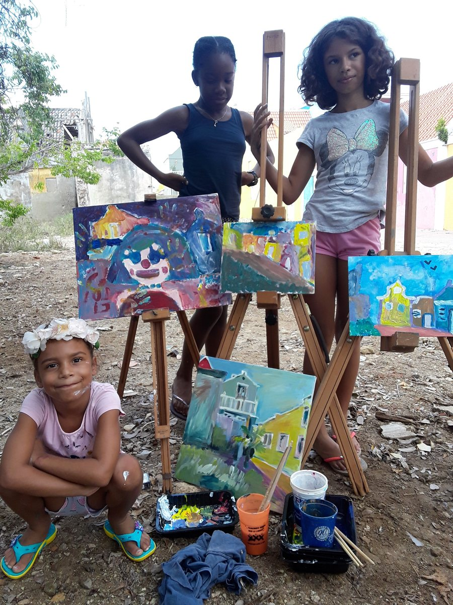 Habitantes van Kurá di Arte: Artis Magistra