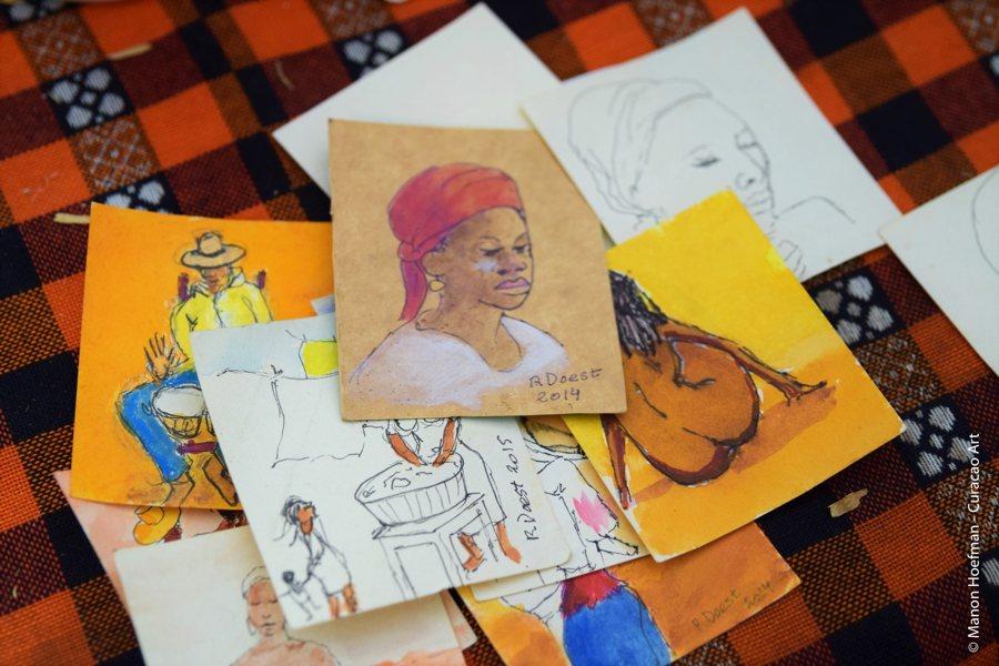 kunstkaarten Curacao