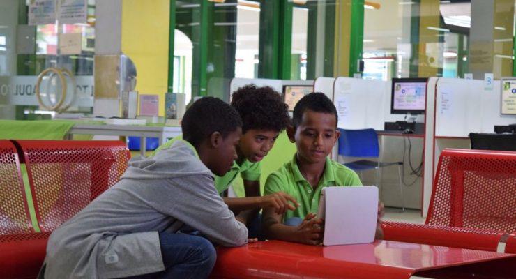 Educatief Programma van het Media Lab in Biblioteka Nashonal Kòrsou