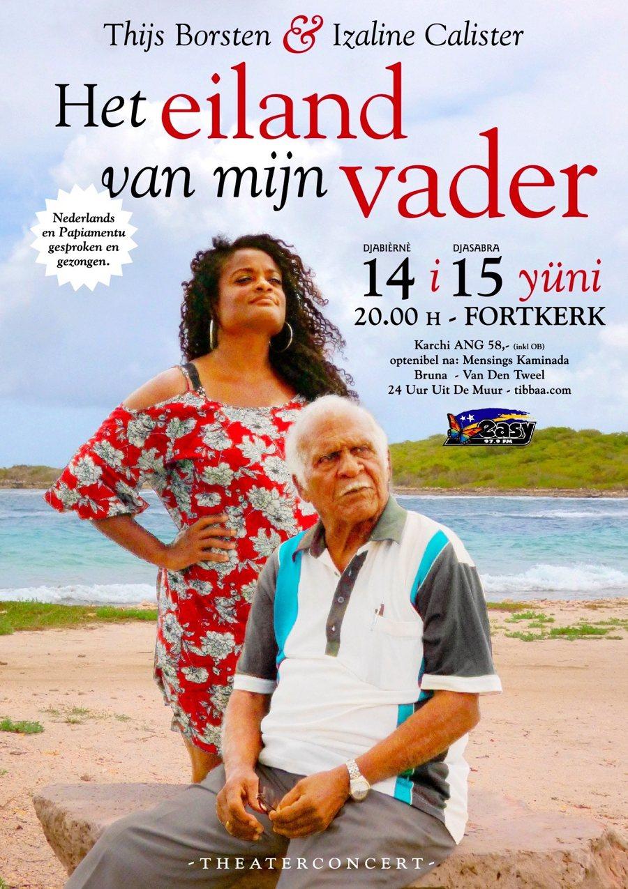 Theaterconcert 'Het Eiland van mijn Vader' in de Fortkerk