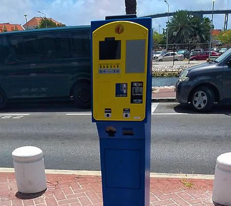Twaalf nieuwe parkeermeters in de stad