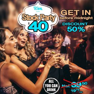 StockParty #All you can Drink @ Villa Royal