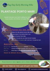 Morning Hike @ Plantage Porto Mari