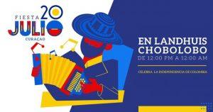 Fiesta 20de Julio en Curaçao @ Landhuis Chobolobo