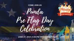 Punda Pre Flag Day Celebration @ Punda