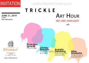 Trickle Art Hour @ Landhuis Bloemhof
