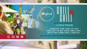 Grill & Chill ft. La Rosa Tatuada @ Mistral curacao