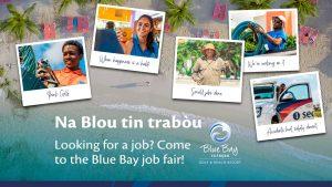 Na Blou tin trabòu @ Blue Bay