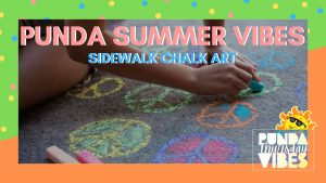 Punda Summer Vibes: Sidewalk Chalk Art @ Punda