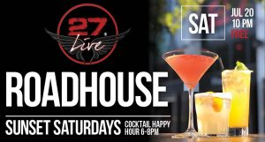 27 Live: Roadhouse @ Bar 27