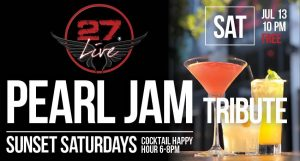 Pearl Jam Tribute @ Bar 27