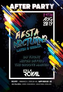 Fiesta Nocturno (Latin & urban) @ Villa Royal
