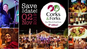 Corks & Forks @ Landhuis Brakkeput Mei Mei
