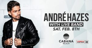 André Hazes Jr. with Live Band @ Cabana Beach