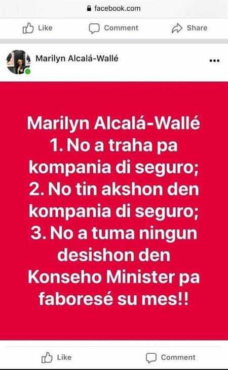 Spanning coalitie door facebook van Alcalá-Wallé