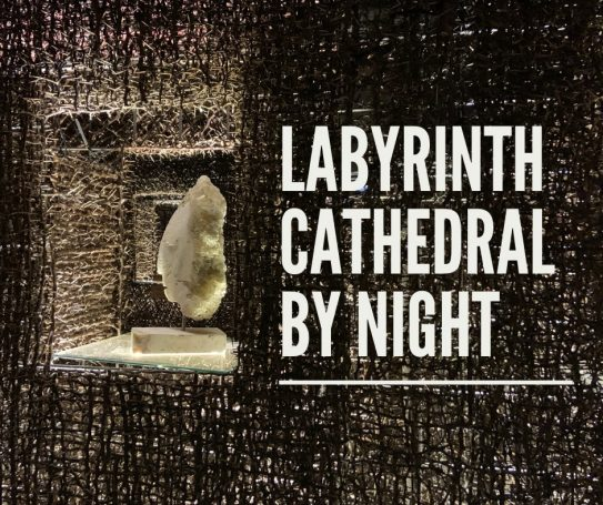 Labyrinth Cathedral by night @ Landhuis Bloemhof