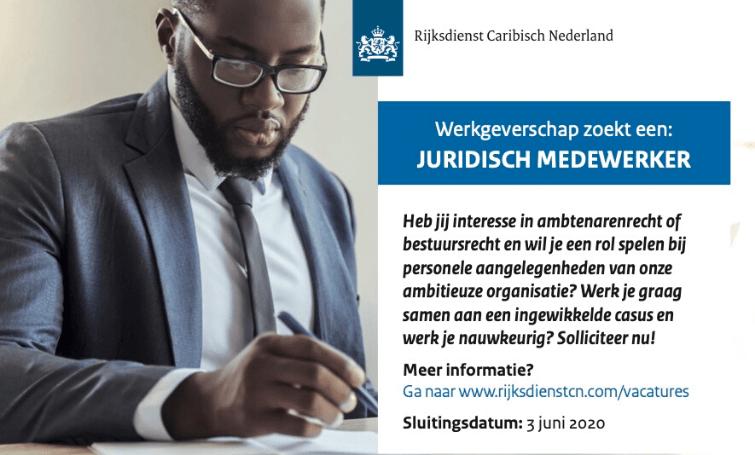 Vacature Juridisch Medewerker