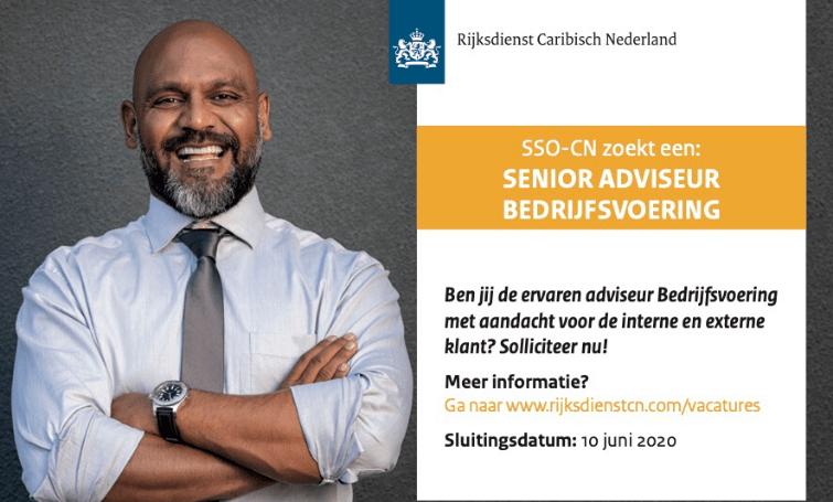 Vacature Senior Adviseur Bedrijfsvoering
