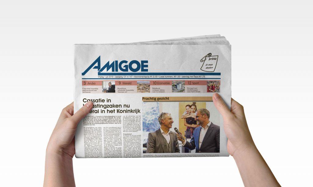 Ontslagen bij Amigoe