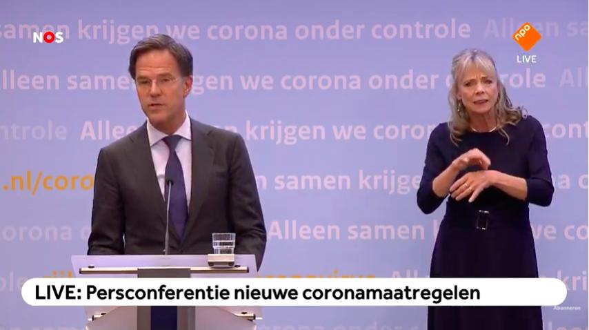 Nederland in gedeeltelijke lockdown