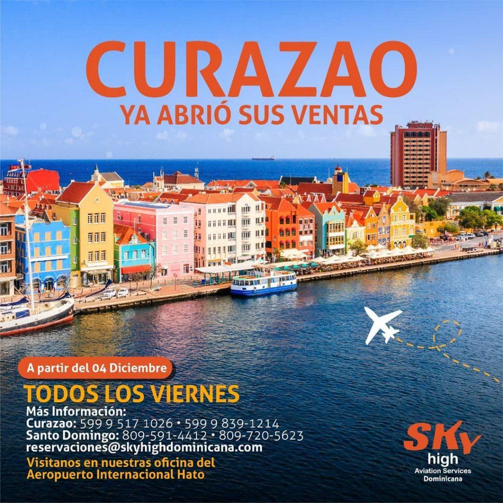 De Dominicaanse luchtvaartmaatschappij Sky hervat vluchten naar acht Caribische bestemmingen