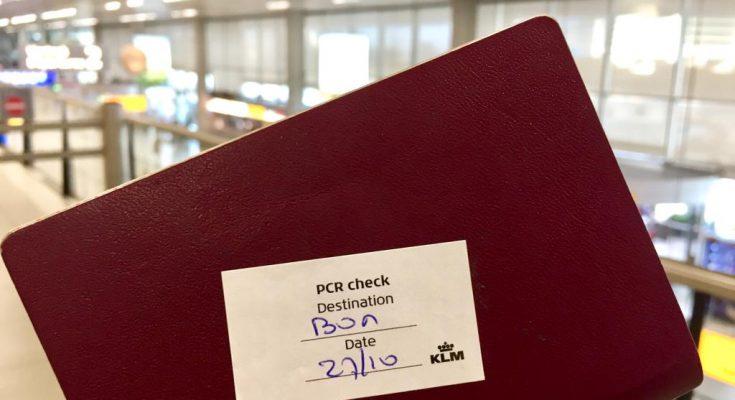Vliegverbod Nederland Bonaire minimaal tot 15 december