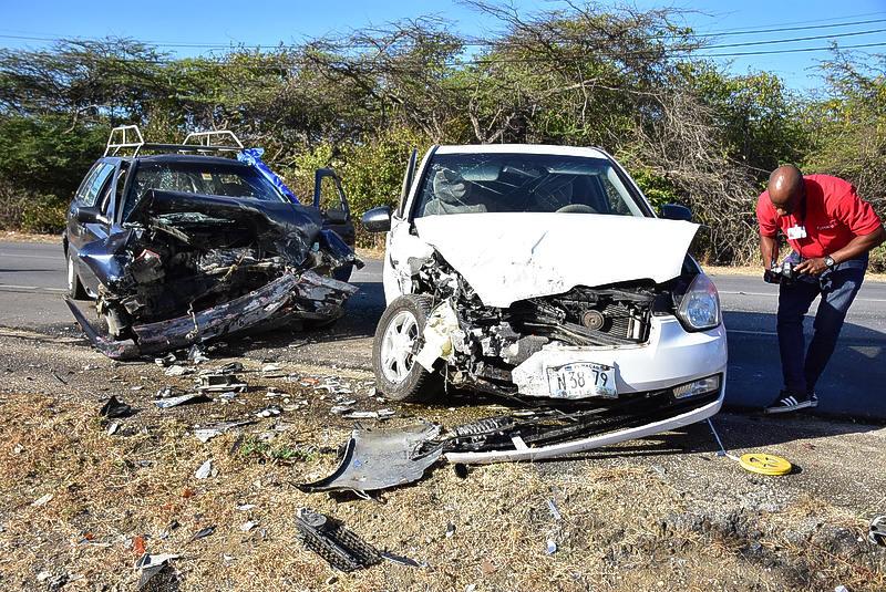 Een op de vijf motorvoertuigen betrokken bij een ongeluk in 2019