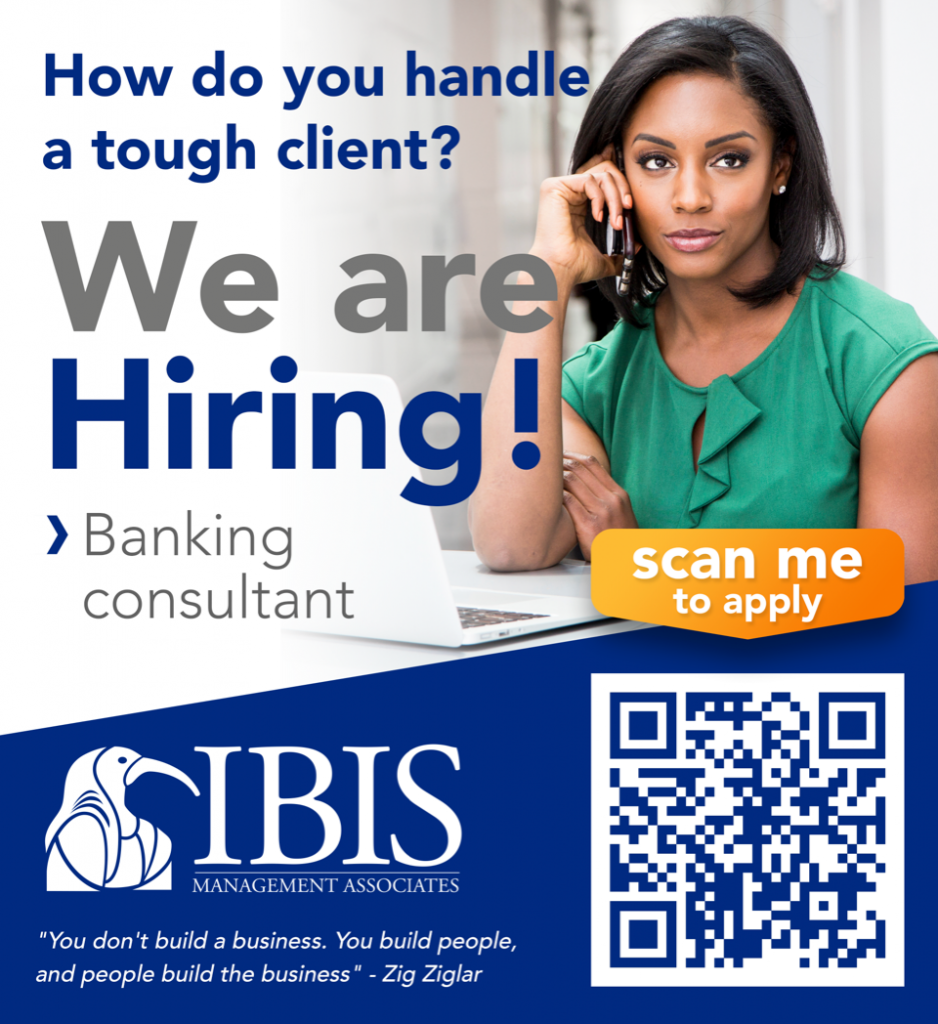 Vacature Banking Consultants Curaçao