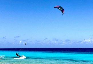 Kitesurfen op Curaçao