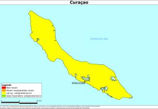 Actueel reisadvies voor vakantie naar Curaçao
